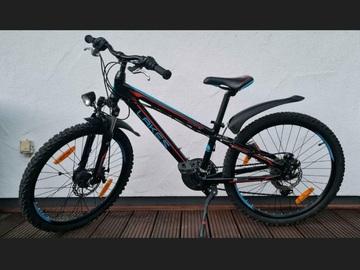 """Verkaufen: Mountainbike Lakes Craker, 24"""", Rahmen 31 cm, 21- Gang Schaltung"""