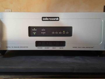 Sale: Audio Research DAC7