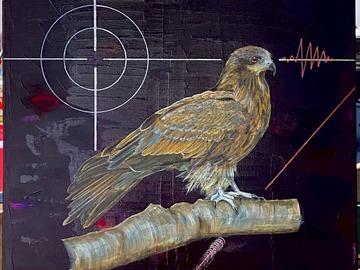 Sell Artworks: Black kite 鳶