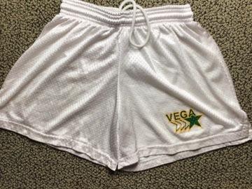 Selling multiple of the same items: Camp Vega mesh shorts