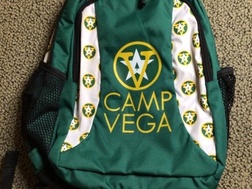 Selling multiple of the same items: Camp Vega backpack
