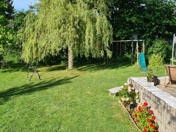 NOS JARDINS A LOUER: Jardin multi-activités: anniversaire/barbecue/piscine/terrasse
