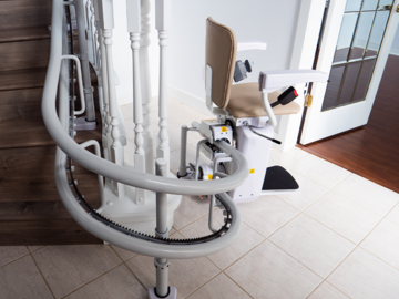 QUOTE/CONSULTATION: Scalara CL2 Curved Stairlift | Ultra Slim