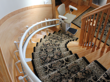 QUOTE/CONSULTATION: Ultra Slim Custom Curved Stairlift | BC