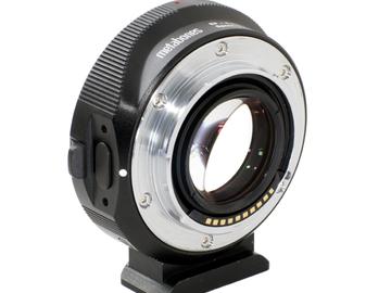 Vermieten: Metabones Speedbooster Ultra EF Linse auf E-Mount Kamera