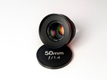 Vermieten: Nikkor 50mm f/1.4 Cine-Mod EF-Mount