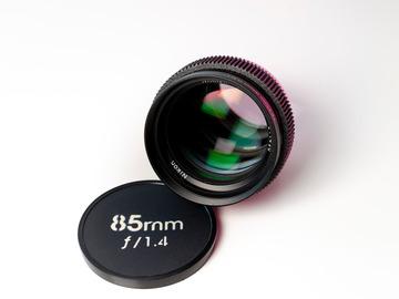 Vermieten: Nikkor 85mm f/1.4 Cine-Mod EF-Mount