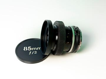 Vermieten: Nikkor 85mm f/2 Cine-Mod EF-Mount