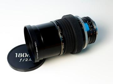 Vermieten: Nikkor 180mm f/2.8 Cine-Mod EF-Mount