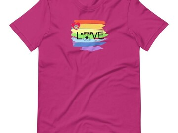 Selling: Pride & Love - T-Shirt for Dog Lovers