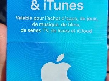 Vente: Carte Apple AppStore - iTunes (20€)