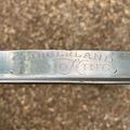 "Selling with online payment: Slingerland 14"" Radio King engraved single flanged hoop/rim"