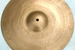 """Selling with online payment: 1950-60s ZILCO 13"""" hammered cymbal 990 grams"""