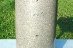 Selling with online payment: 1960s ROGERS Silver Glitter canister throne