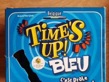 Vente avec paiement en ligne: Jeu de société Time's up bleu (Belgique)