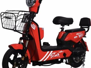Liquidation/Wholesale Lot: Lot of 5 E-Bike / Moped 500 watt 48 Volt
