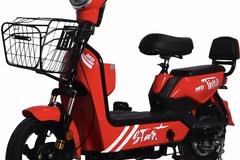 Liquidación / Lote Mayorista: Lot of 5 E-Bike / Moped 500 watt 48 Volt