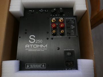 Vente: AMPLI  SUB ATOHM S250