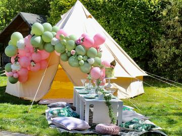 Renting out with online payment: 3m Bell Tent
