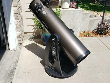 """For rent: 10"""" Orion Skyquest Dobsonian"""