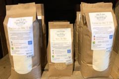 Vente avec paiement en direct: Farine de blé T80 - 1 kg