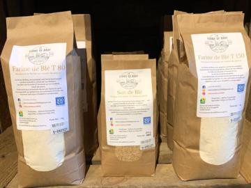 Vente avec paiement en direct: Farine de blé T150 - Pain complet - 1 kg