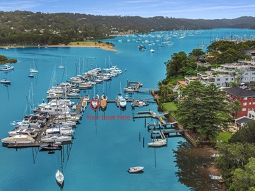 Rent By The Day (Calendar availability option): 13m berth in Pittwater - very well protected.