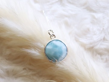 Selling: Larimar Necklace