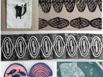 Workshop Angebot (Termine): Stempel schnitzen & Stoff-/Papierdruck