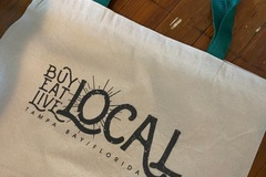 Selling with online payment: 2 Buy Local Tote Bags