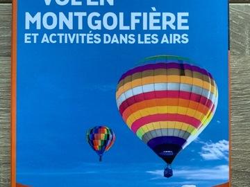 Vente: Wonderbox Vol en montgolfière - activités dans les airs (184,90€)