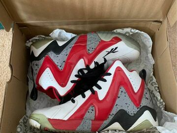 The Buyer must come to the seller's address: Reebok Kamikaze II White