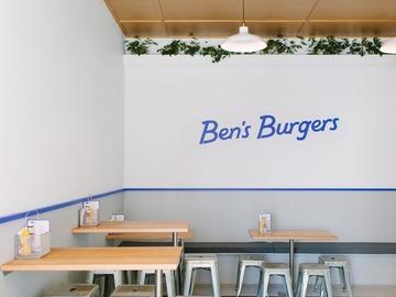 Walk-in: Eat burgers for breakfast before work in Winn Lane