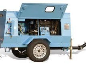 En alquiler: Moto compresor de 5,3 mts. 3/min con 2 martillos y mangueras