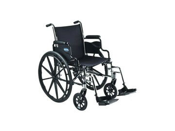"""SALE: Invacare Tracer SX5 Wheelchair, 18""""x16"""", Desk-Length Arms"""
