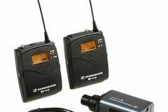 Vermieten: Sennheiser EW-100 Funkmikrofon (4x)