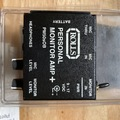 Selling with online payment: Rolls PM50sOB personal monitor headphone amp, like new