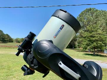 For rent: Celestron CPC Deluxe 1100 HD