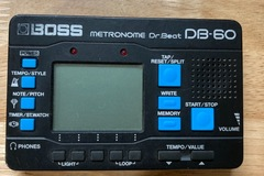 SOLD!: SOLD! Boss Dr. Beat DB60 metronome (missing battery cover) video