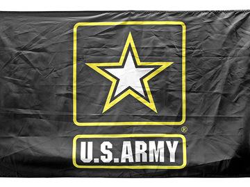 Liquidation/Wholesale Lot: 3' x 5' U.S. Army Flag
