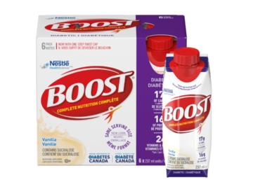 SALE: BOOST® Diabetic Vanilla Drink (24 x 237mL)