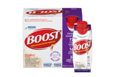 SALE: BOOST® Diabetic Strawberry Drink (24 x 237mL)