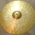 """Selling with online payment: SOLD - Ancient 15 1/2"""" hand hammered orchestra cymbal SOLD"""
