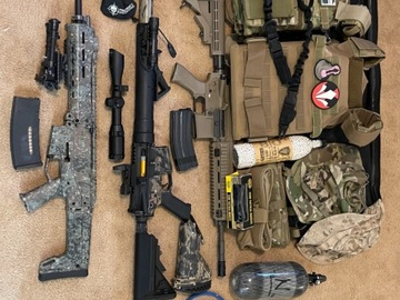 Selling: HPA guns and gear UNLOAD