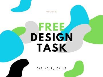 FREE First Task: Mafalda - FREE Design Task