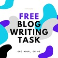 FREE First Task: Lena - FREE Blog Writing Task
