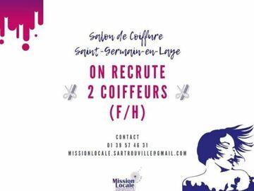 Offre: Offre d'emploi Coiffeur/se (URGENT)