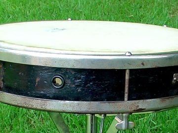 Selling with online payment: SOLD 1920s LEEDY Tango 3x13 Solid Walnut snare drum SOLD