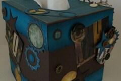 Vente au détail: Couvre boîtes à  mouchoirs cubique