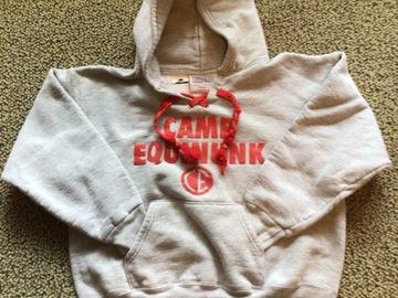 Selling A Singular Item: Camp Equinunk pullover sweatshirt